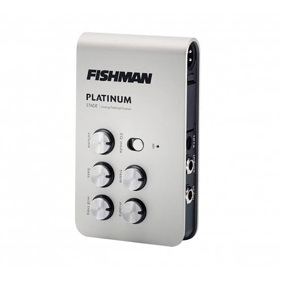 FISHMAN Preamp. Pro-EQ Platinum Stage Analogue